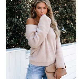 WAYBURN Fuzzy Knit Sweater